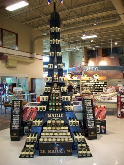 Maille Tower display compressor 250x333 Dijon mustard in Canada is Maille!